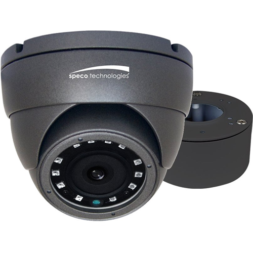 HD-TVI 2MP EYEBALL CAMERA, 3.6MM LENS, GREY HOUSIN