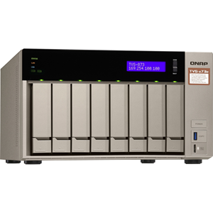 "AMD RX-421BD 2.1 3.4 GHz, 8GB DDR4 RAM, 8x 2.5""/3.5"" + 2x M.2 2280/2260 SATA 6Gb/s drives, 4x GbE LAN, optional 10GbE PCIe expansion, Surveillance Station free 4 & max 72 channels, USB QuickAccess"