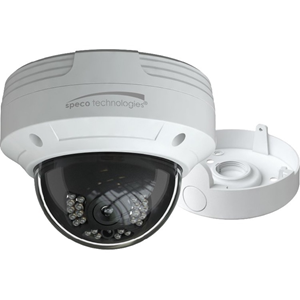 65 ft Night Vision - Motion JPEG, H.264, H.265 - 2592 x 1520 - 2.80 mm - CMOS - Cable - Dome - Junction Box Mount