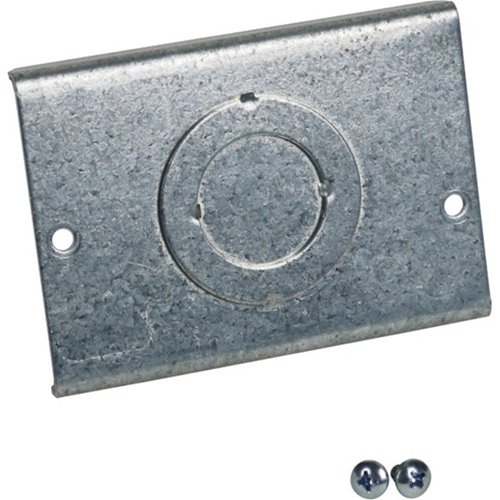 Wiremold Evolution Series EFB6 Floor Box Knockout Plate