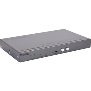 1 Output Device - 2 x Network (RJ-45) - 1 x HDMI Out - Serial Port - 4K - 4096 x 2160 - Twisted Pair - Rack-mountable