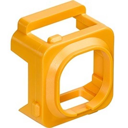 Leviton Connector Adapter Bezel, Yellow