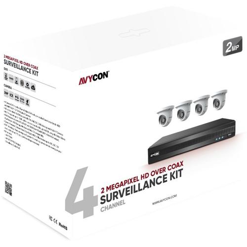 AVYCON 1080P (2.1MP) HD over Coax Kit