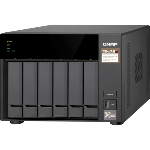 QNAP TS-673 SAN/NAS Storage System