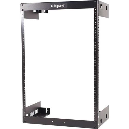 C2G 15U Wall Mount Open Frame Rack - 18in Deep (TAA Compliant)