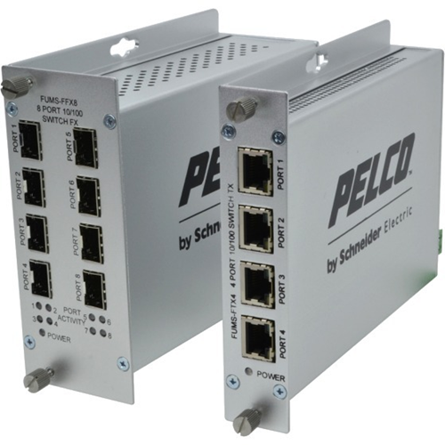 Pelco FUMS-FTX4 Ethernet Switch
