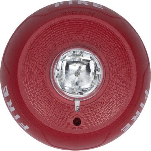 Bosch SS-SCRL Ceiling Strobe, 2-Wire, Red