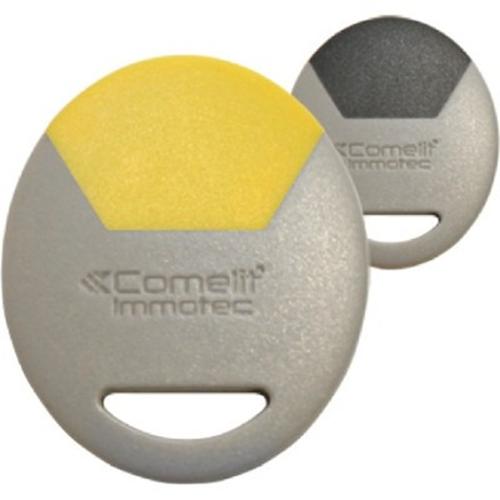 Comelit Standard Grey-Yellow Key Fob Card