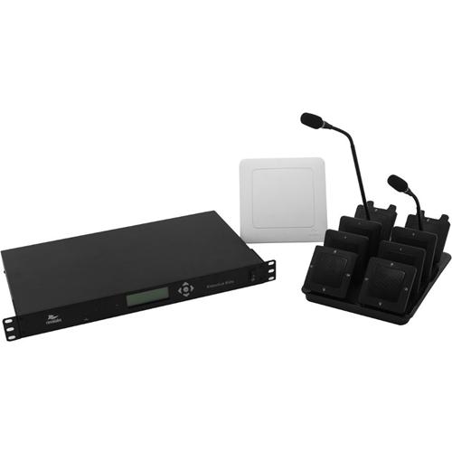 Revolabs Executive Elite 01-ELITEEXEC4-31GSA 4 Channel Wireless Microphone System