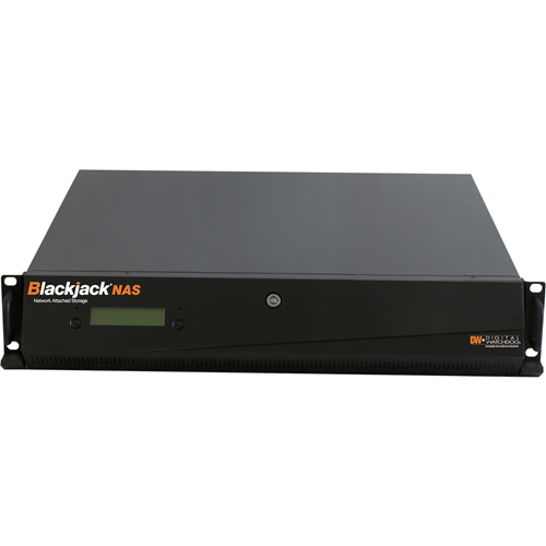 Digital Watchdog Blackjack NAS 2U 8-bay Chassis Storage for Blackjack Servers