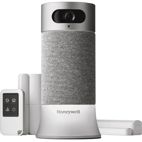 The Honeywell Smart Home Security Starter Kit is the smarter way to know what's happening at home: An All-in-one security system that comes with Amazon Alexa built in, and facial recognition that gives you smart mobile alerts. It's do-it-yourself securit