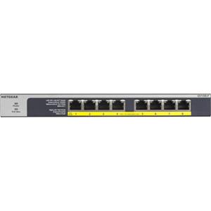 8-Port Gigabit Ethernet PoE+ Unmanaged Switch