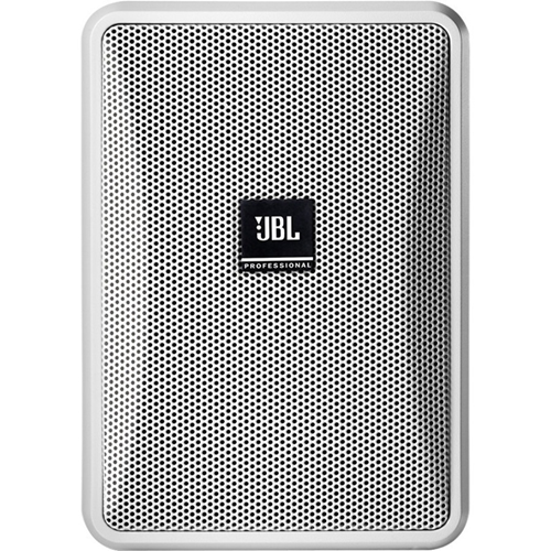 JBL Professional CONTROL 23-1L 2-way Indoor/Outdoor Wall Mountable Speaker - 100 W RMS - White