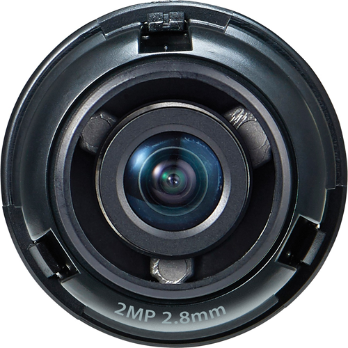 Hanwha Techwin SLA-2M2800Q - 2.80 mm - f/2 - Fixed Focal Length Lens for M12-mount