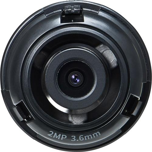 Hanwha Techwin SLA-2M3600Q - 3.60 mm - f/2 - Fixed Focal Length Lens for M12-mount