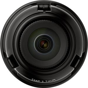 Hanwha Techwin SLA-5M3700Q - 3.70 mm - f/1.6 - Fixed Focal Length Lens for M12-mount