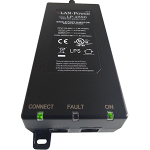 120 V AC, 230 V AC Input - 56 V DC, 1.60 A Output - 1 10/100/1000Base-T Input Port(s) - 1 10/100/1000Base-T Output Port(s) - 90 W