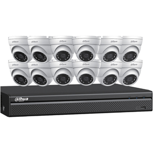Network Video Recorder, Camera - H.264, H.265 Formats - 4 TB Hard Drive - 30 Fps - 2688 x 1520 - 1 Audio In - 1 Audio Out - 1 VGA Out - HDMI