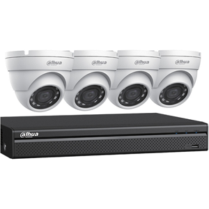 4CH DVR, 2TB, 2X2MP EYEBAL KIT