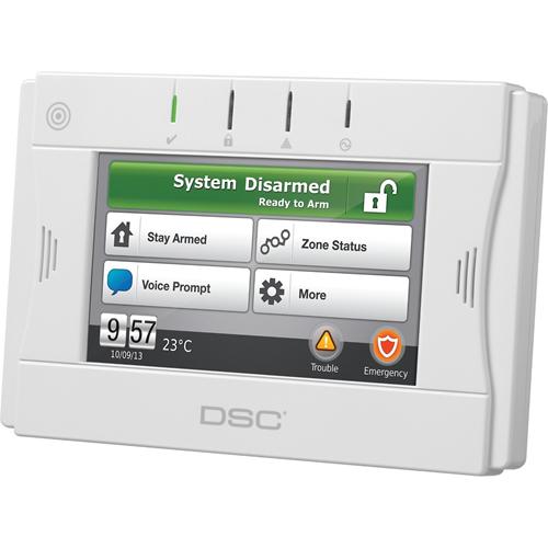 DSC WTK5504P Security Touchscreen Keypad