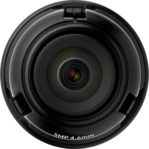 Wisenet SLA-5M4600P - 4.60 mm - f/1.6 - Fixed Focal Length Lens for M12-mount