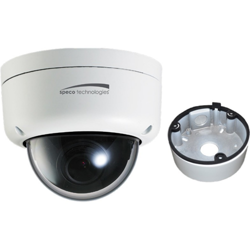 2 MP INTENS IP DOME 3.6 JUNC BOX WHITE