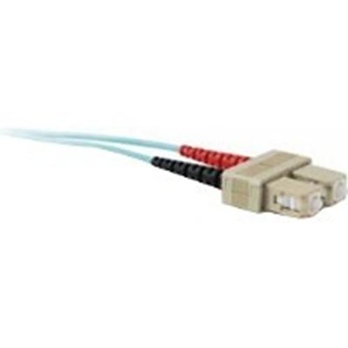 Quiktron 10m Value Series SC SC 10G Duplex PVC Fiber Cable