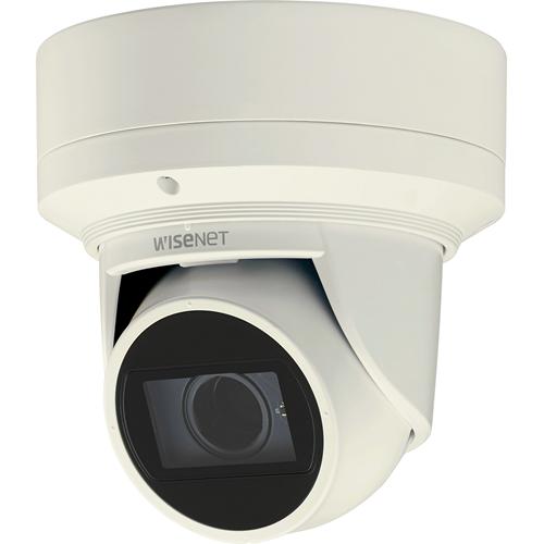 Wisenet Q network outdoor vandal flateye camera 2MP @30fps