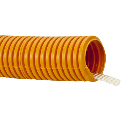FLEX. ORANGE DUCT 2' X 50' WITH PULL TAPE