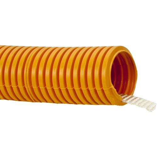 FLEX. ORANGE DUCT1 1 1/4' X 100' WITH PULL TAPE