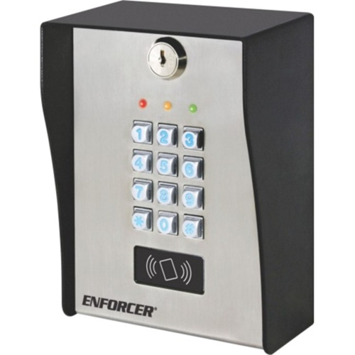 Enforcer Heavy-Duty Outdoor Access Control Keypad with Proximity Reader