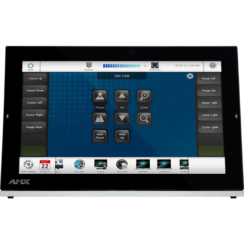 """AMX 10.1"""" Modero G5 Tabletop Touch Panel"""