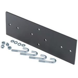 Ortronics Mounting Plate for Rack - Black