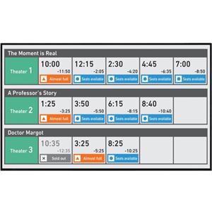 Sharp AQUOS BOARD PNUH551 Digital Signage Display