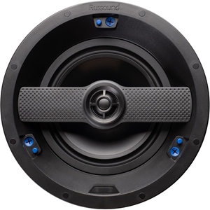 "2-way in-ceiling/in-wall high resolution speaker with 6.5"" woofer and edgeless grille - Pair"
