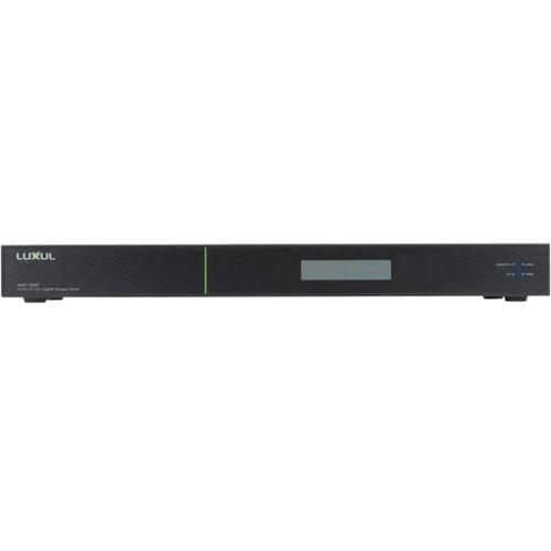 Luxul AV Series 18-Port Gigabit PoE+ L2/L3 Managed Switch