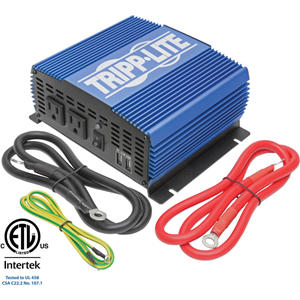 1500W COMPACT POWER INVERTER MOBILE PORTABLE 2 OUTLET 2 USB PORT