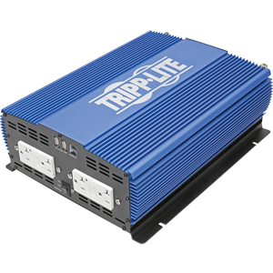 2000W COMPACT POWER INVERTER MOBILE PORTABLE 4 OUTLET 2 USB PORT