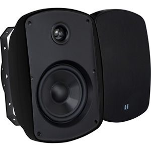 6-1/2' OUTDOOR SPEAKER BLACK PAIR
