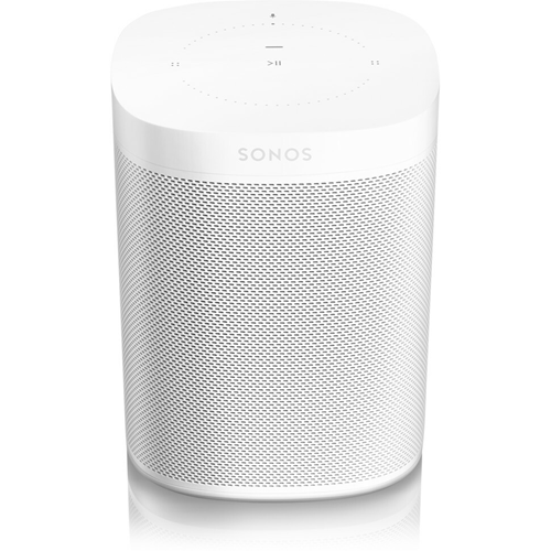 Sonos One (Gen 2) with Amazon Alexa White - Second generation Sonos One with Bluetooth Low Energy (BLE), increased memory and updated processor. The powerful smart speaker with built-in voice control. Start and control your music with your voice. Amazo