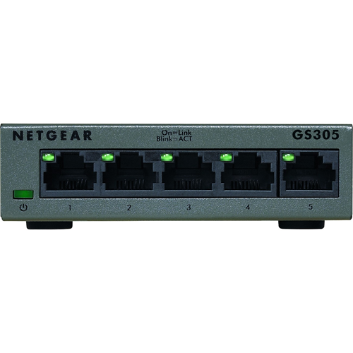 5-port Gigabit Ethernet Unmanaged Switch