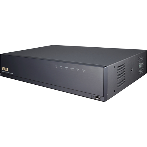 4K NVR 12TB RAW supports: 16 channels with a 16 PoE/PoE+ ports