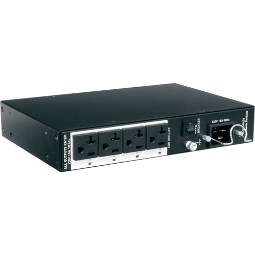 Middle Atlantic Compact Premium+ PDU With Racklink, RLNK-P420, 4 Outlet, 20A, 2-Stage Surge