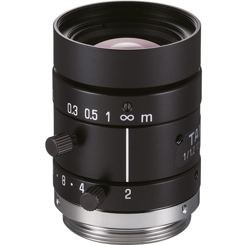 Tamron M112FM12 - 12 mm - f/2 - Fixed Lens for C-mount