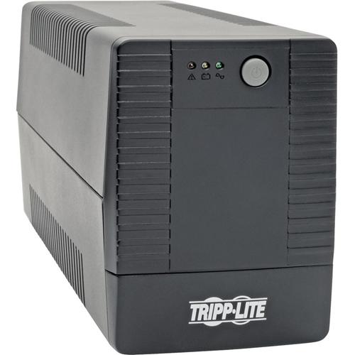 Tripp Lite 600VA 360W UPS Desktop Battery Back Up Compact 120V 6 Outlets