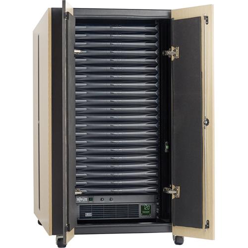 Tripp Lite EdgeReady Micro Data Center 21U Quiet 3000VA UPS PDU 120V Kit