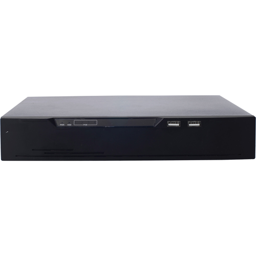 H.265 4CH POE NVR WITH 2 TB HARD DRIVE