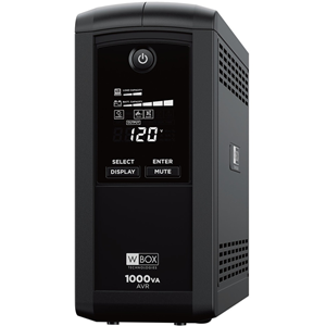 1000VA/600W/9 OUT/LCD/AVR UPS