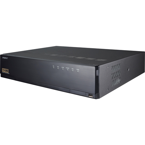 4K NVR 8TB RAW  that supports: up to 32 channels H.265/H.264/MJPEG ARB (Automatic Recovery Backup) & Failover (N+1) 8 front Hot swappable SATA HDDs (with a maximum internal storage capacity of 64TB)
