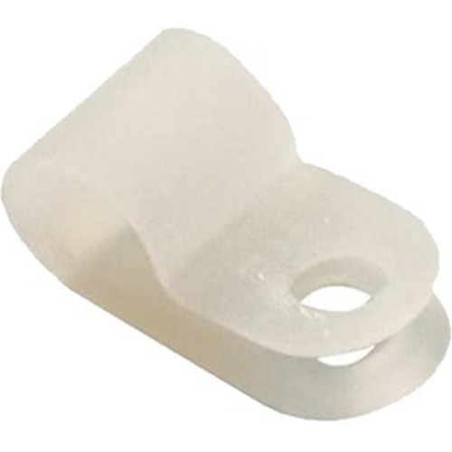 1/4' NYLON CABLE CLAMP/100